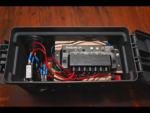 Solar Ammo Box Generator - Assembly