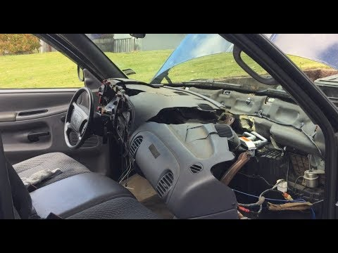 2001 Dodge Ram Broken Dash New Cap Install Complete