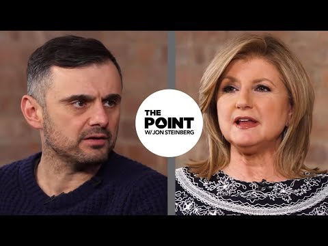 Very Different Views on WorkLife Balance with Arianna Huffington & Gary Vaynerchuk  The Point