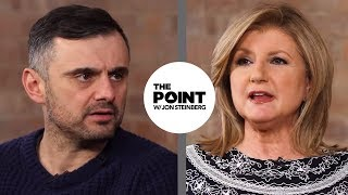 Very Different Views on Work Life Balance with Arianna HuffingtonGary Vaynerchuk The Point