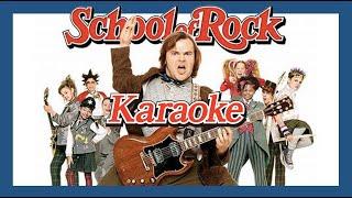 Baixar School Of Rock Backing Track for singer Karaoke