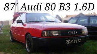 Audi 80 b3 1.6 DIESEL JK 54KM Sprint 0 - 120