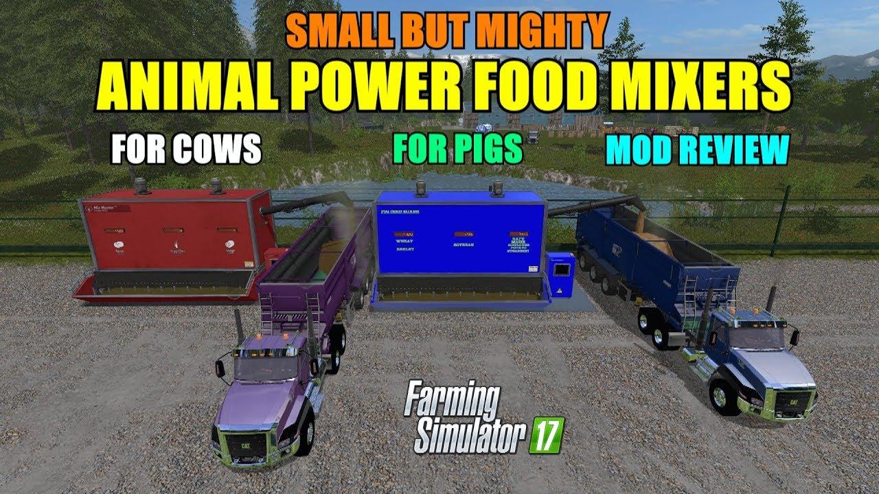 Farming Simulator 17 - Small But Mighty Animal Power Food Mixers
