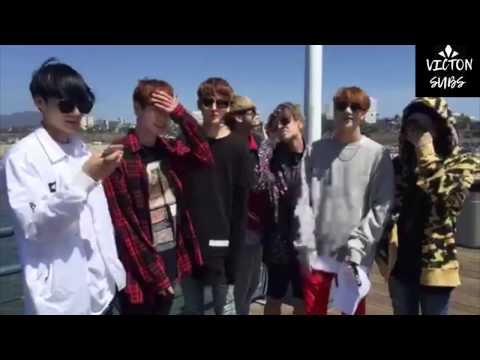 [ENG SUB] VICTON Broadcast (Right Now at Santa Monica!)