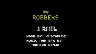 Tiny Robbers (NES) - Full Soundtrack [Oscilloscope View]