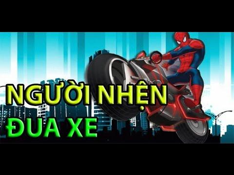 Game người nhện đua xe – Video hướng dẫn chơi game 24h