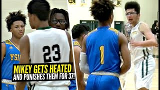 Mikey Williams Gets HEATED & RESPONDS w/ 37 POINTS! After Teammate Gets FOULED Hard!