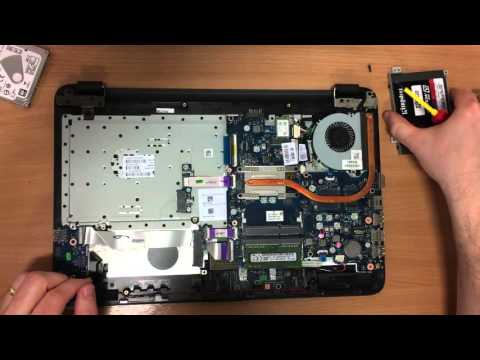 HP 250 G4 Upgrade Hard Drive & SSD Replacement