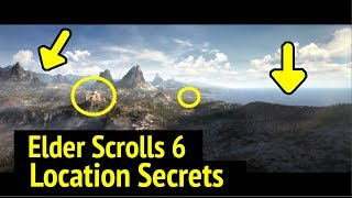 Elder Scrolls 6: Hidden Location Details (E3 2018 Trailer for The Elder Scrolls VI Analyzed)