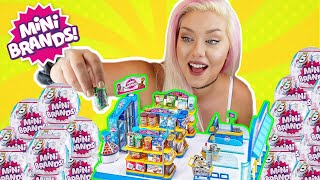 OPENING TOO MANY MINI BRANDS!! FILLING MY MINI BRAND STORE! LIMITED, RARE, SUPER RARE FINDS!!