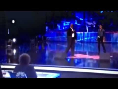 Father-Daughter (Shanice & Maurice Hayes) gets a standing ovation on America's got talent