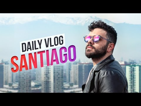 A MAIOR ESCALADA DA MINHA VIDA | SANTIAGO, CHILE | DAILY VLOG from YouTube · Duration:  19 minutes 51 seconds