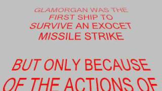 HMS GLAMORGAN THE FALKLANDS WAR