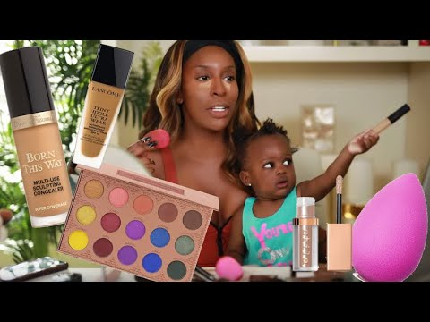 Doing Makeup With MY BABY!!! She Was SO Over It LMAO | Jackie Aina