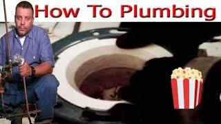 Toilet Flange Repair Trick 👍👍👍