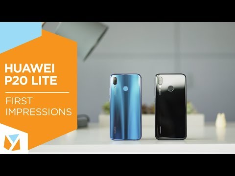 Huawei P20 Lite Unboxing and Hands-on