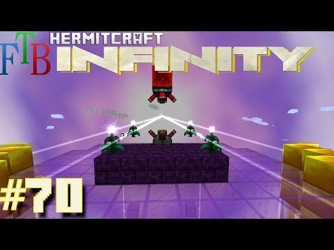 Minecraft Mods - FTB Infinity Ep. 70 - Epic Energized Node !!! ( HermitCraft Modded Minecraft )
