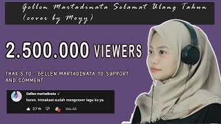 Download Gellen Martadinata Selamat Ulang Tahun (cover by Moyy)