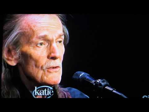Gordon Lightfoot - Katie Couric-June 12,2014 - If You Could Read My Mind-CHAR video