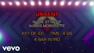 Alanis Morissette - Unsent (Karaoke)