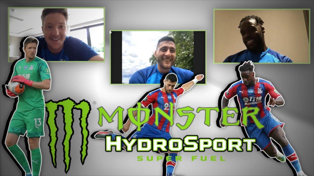 WEIRDEST PRE-MATCH ROUTINE?   Schlupp, Hennessey and Ward take the Monster Hydro Hot Seat