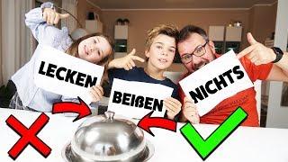 LECKEN ✅ BEIßEN ✅ NICHTS ❌ CHALLENGE - Lulu & Leon