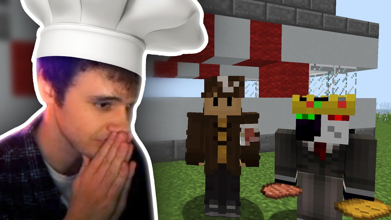 Wilbur BECAME CHEF And Starts His BURGER VAN With Ranboo! DREAM SMP