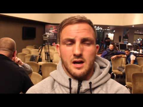 DALE EVANS - 'TIMES HAVE BEEN HARD, I CONSIDERED LEAVING BOXING ALL TOGETHER, THIS IS WHAT I NEED.