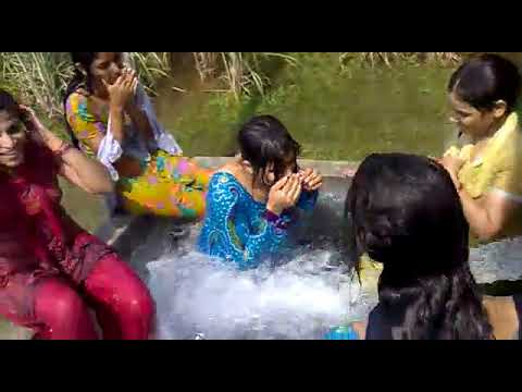 Think, that Desi girls water park