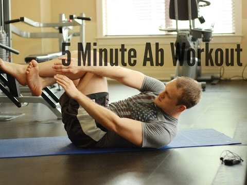 5 Minute Ab Workout: Lower, Middle, and Upper Core Sculpt & Burn