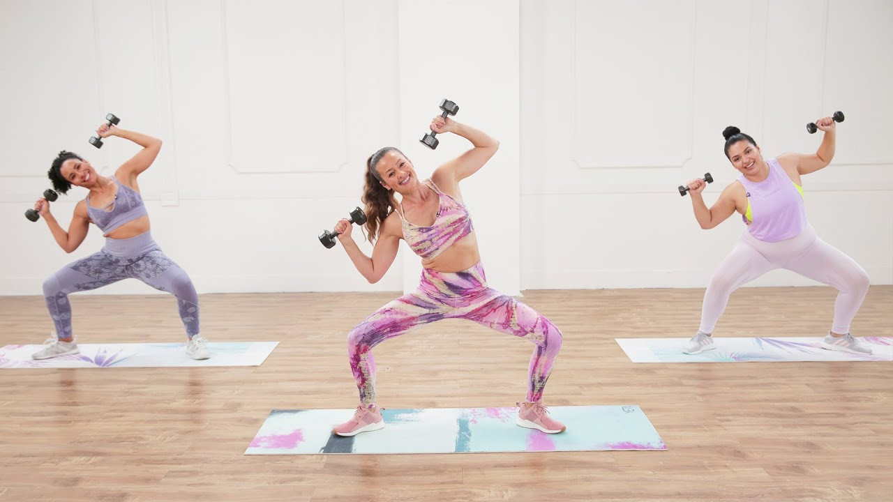 Download 30-Minute Full-Body Strength Workout With Anna Renderer