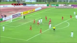 Việt Nam 3-0 Singapore (chung kết AYA Bank Cup 2016)