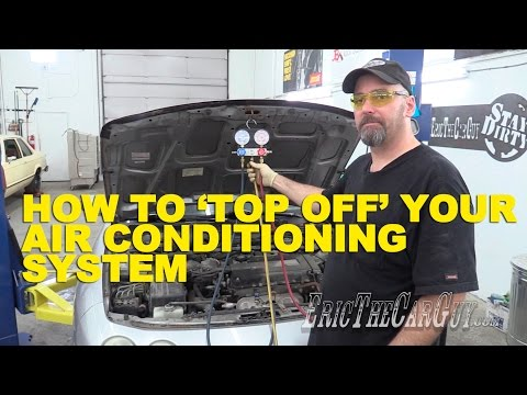 How To 'Top Off' Your AC System