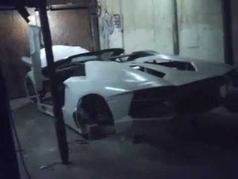 Lamborghini Aventador Replica With Door And Front Trunk Opening