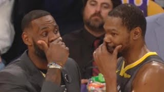 KD & LeBron Have Secret Meeting After Draymond Shades Him For Trying Too Hard To Be Like LeBron!