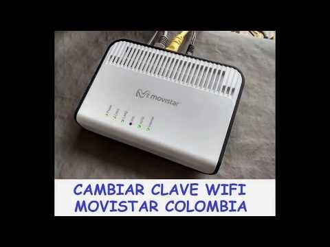 Cambiar clave WIFI Movistar Colombia