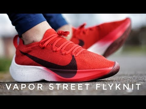 7d6be983584b Nike Vapor Street Flyknit - On Foot   Review - YouTube