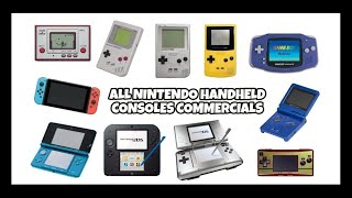 All Nintendo Handheld Consoles Commercials (1980-2018)