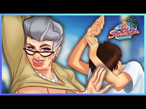 Summertime Saga[v0.17.5]☚#43☛БАБУЛЬ!!! А МОЖЕТ НЕ НАДА, А ?