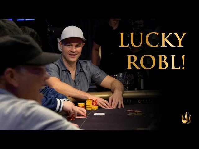 Andrew Robl wins 2 Runs for a US$ 625k pot despite weaker equity!