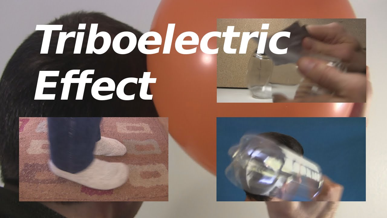 Triboelectric Effect Series Or Triboelectricity Youtube