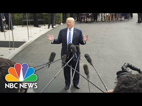 President Donald Trump On Robert Mueller Interview: 'Nobody Wants To Speak More Than Me' | NBC News