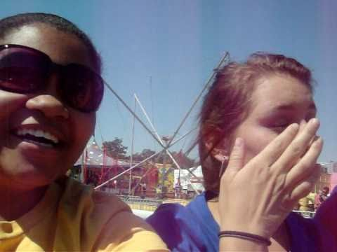Key, Kylie, and me on the Scrambler:))