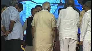 PM Modi dedicates several development projects to the nation in Rajkot, Gujarat