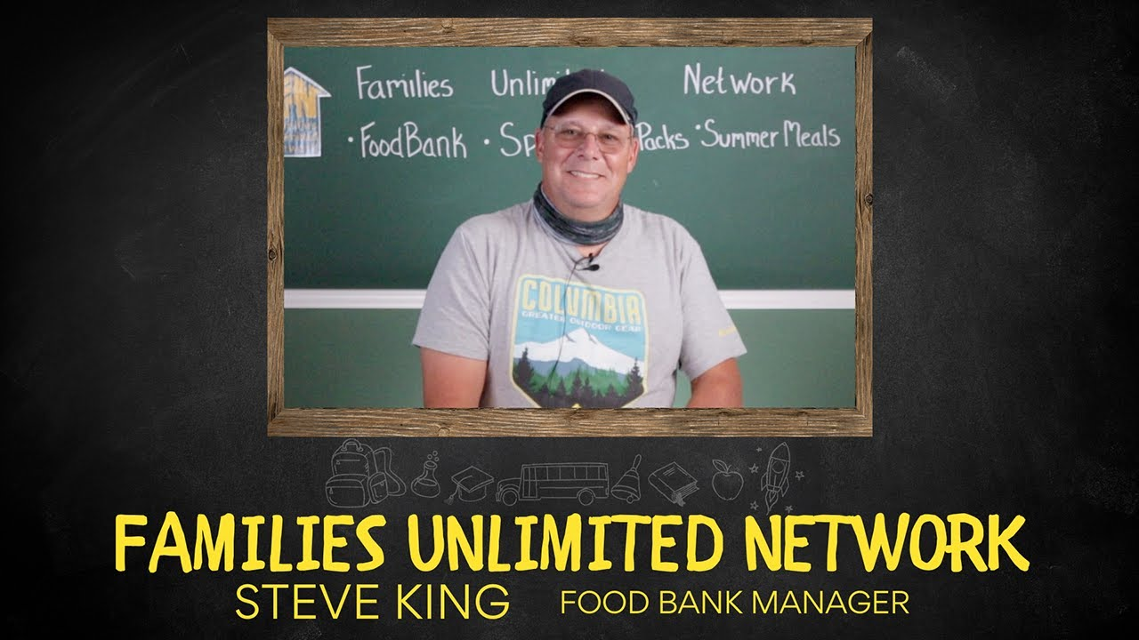 Steve King, Food Bank Program Manager ~ Catch his enthusiasm!
