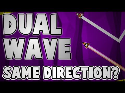 HOW TO DO SAME DIRECTION WAVES! Geometry Dash 2.0 Tutorial