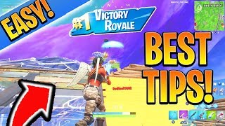 How to Win more Solos EASY in SEASON 10! Console Ps4/Xbox Tips and Tricks (Battle Royale Season 10)