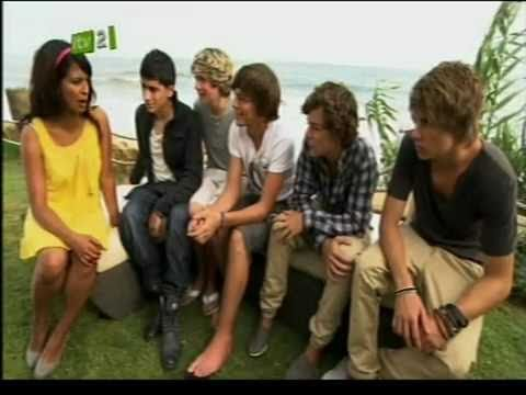 The X-Factor 2010 - One Direction Interview (Xtra Factor)