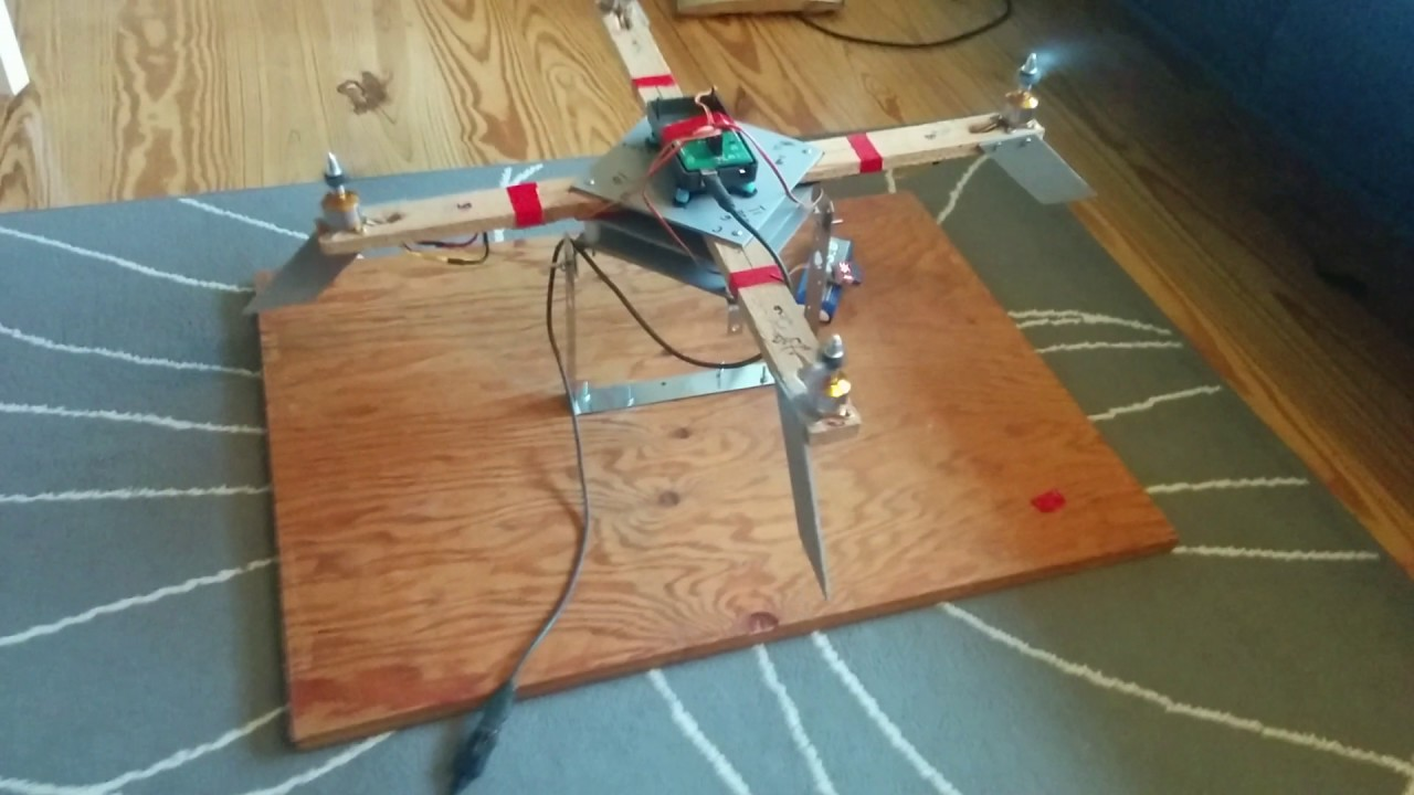 Arduino quadcopter PID tuning - YouTube