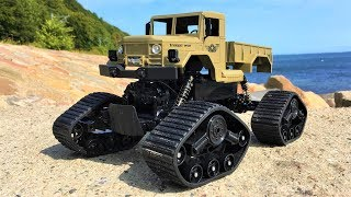 R/C 4x4 Caterpillar Military Truck! The Zegan Rock Rover 'Extreme Beast' (Zegan ZGC1231WS) Review!